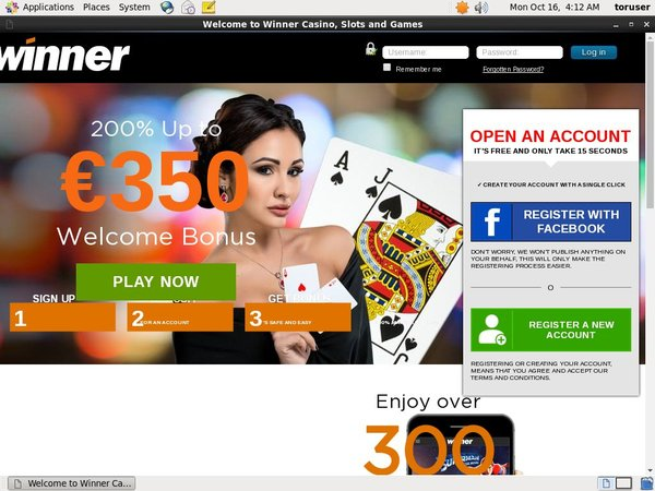 Download Winner Live Casino App