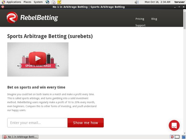 Rebelbetting Minimum Bet