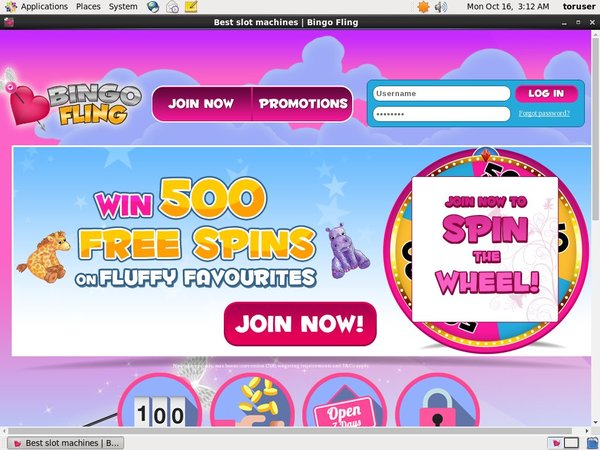 Bingofling Welcome Bonus No Deposit