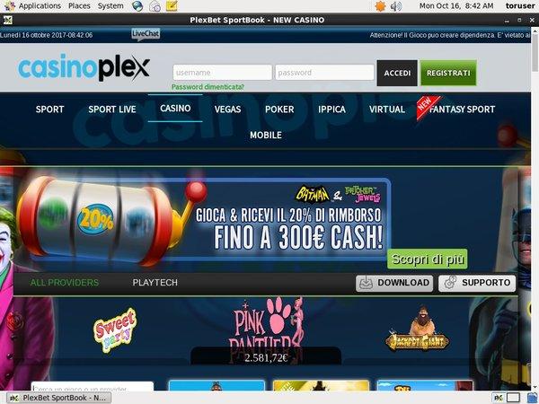 CasinoPlex Racing Today