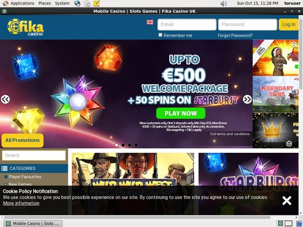 Fika Casino Max Limit