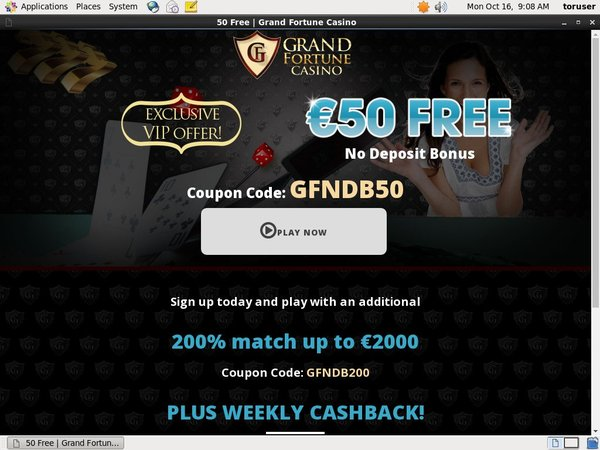 Grand Fortune Match Bet