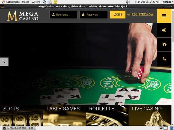 Mega Casino Minimum Bet