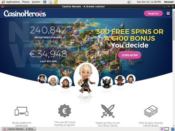 Casinoheroes Vs Bet365