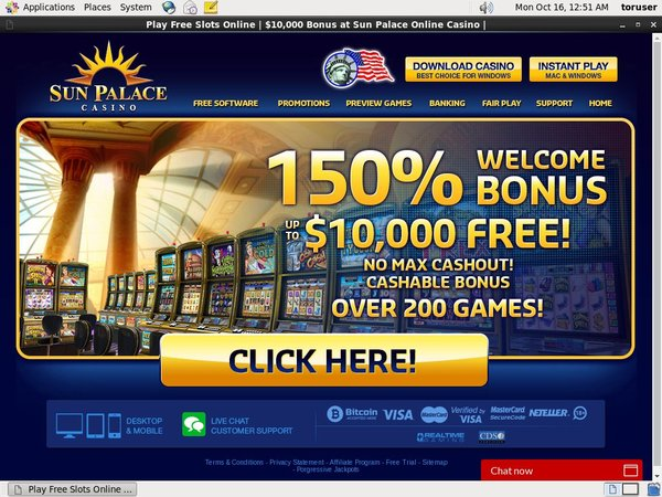 Is Sun Palace Casino Real