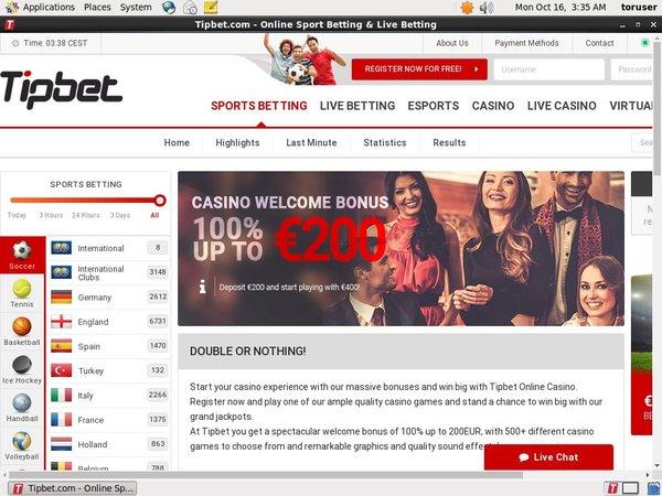 Tipbet Com Casino