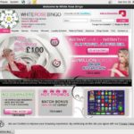 White Rose Bingo Texas Hold Em