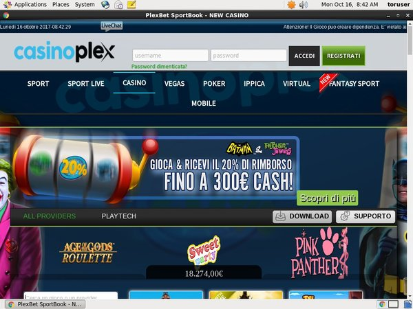 Free Plexbet