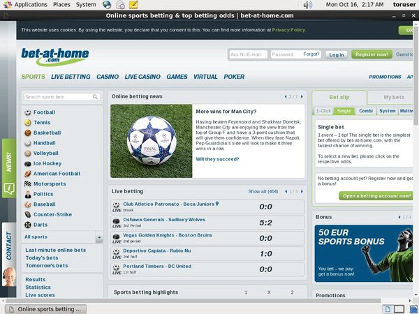 Bet-at-home Sports Promotion Code