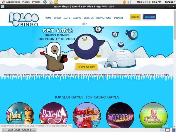 Igloobingo Today Games