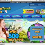 Lucky Touch Bingo Free Bet Offer