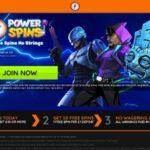 Power Spins Join Up Bonus
