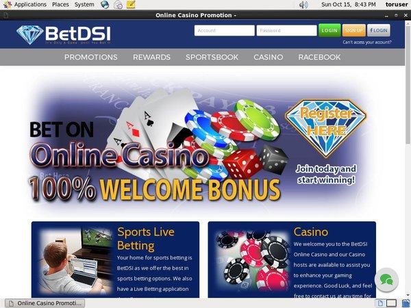Betdsi Mobile Casino