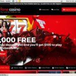 Fone Casino Live Online Casino