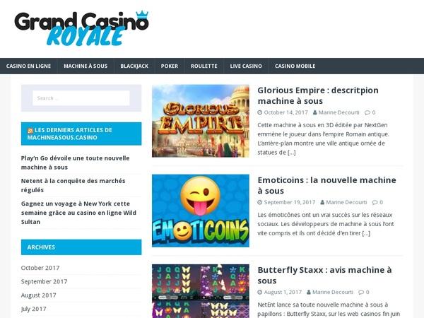 Grand Casino Royale E-wallet