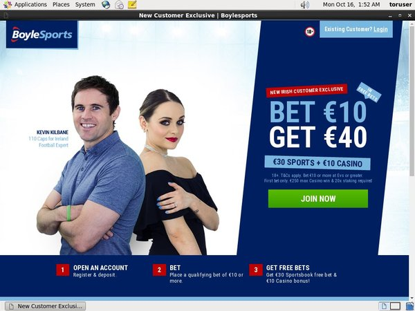 Boylesports Offer