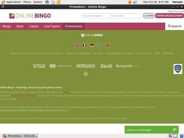 Onlinebingo Reel Slots