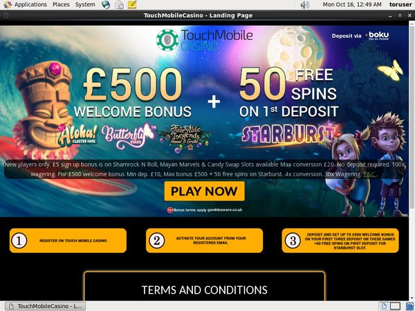 Touch Mobile Besten Casino Bonus
