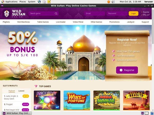 Deposit Bonus Wild Sultan