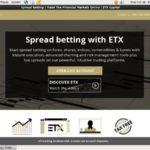 ETX Capital Bet Slip