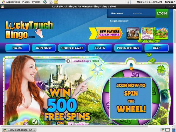 Luckytouchbingo Deposit Offer