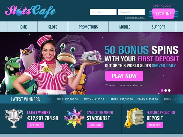 Slotscafe Joining Promo Code