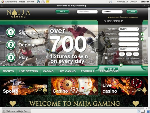 Naijagaming No Deposit Needed