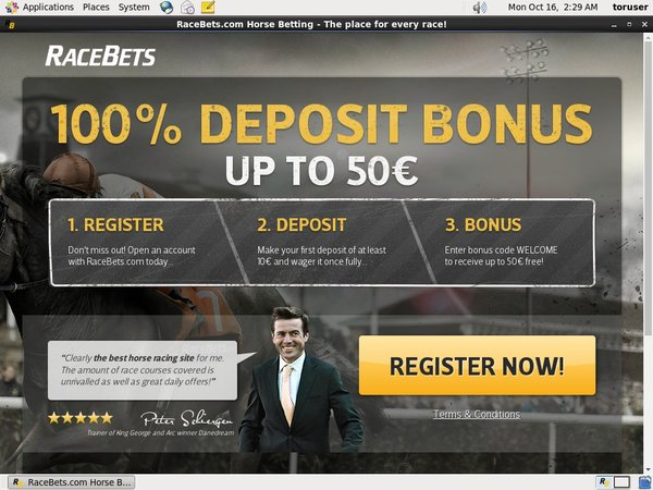 Race Bets Casino Bonus