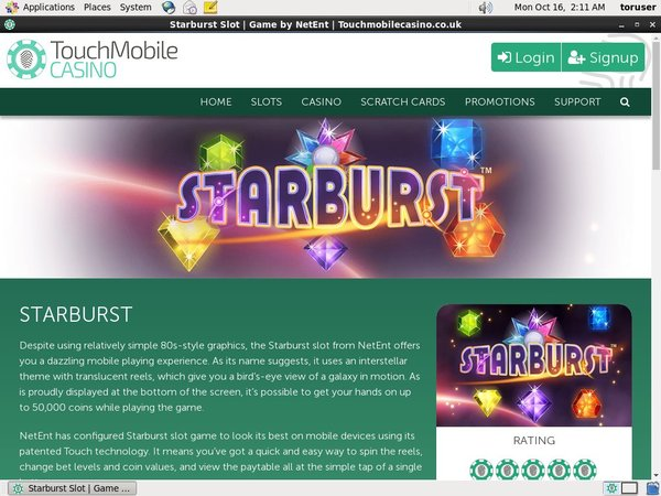 Touchmobilecasino Bonus Coupon