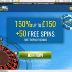William Hill Club Register Page