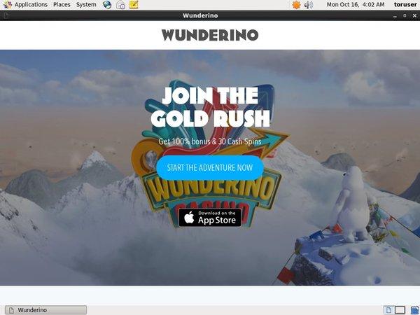 Wunderino Welcome Bonus