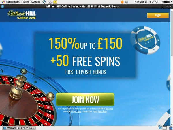 Williamhillcasino Sign Up Free