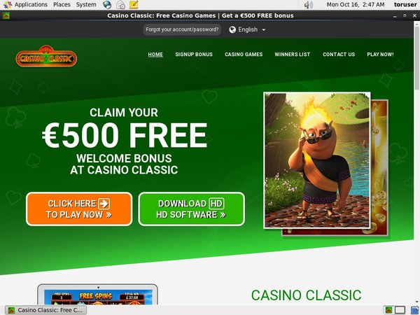 Casino Classic Mobile Trustly