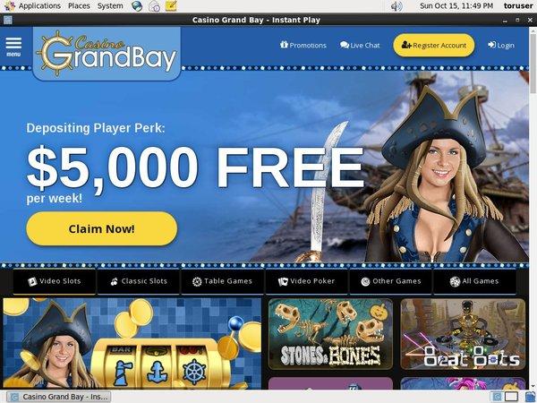Casino Grand Bay Mobile Deposit